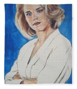 Cami Cooper Fleece Blanket