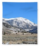 Camp Hale Historical Area Fleece Blanket
