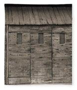 Camp Randall Stockade - Madison Wisconsin Fleece Blanket