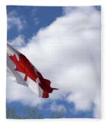 Canada Flag Fleece Blanket