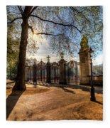Canada Gate Green Park London Fleece Blanket