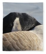 Canada Goose Head Fleece Blanket