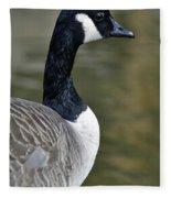 Canada Goose Portrait Fleece Blanket
