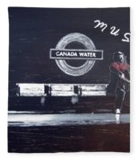 Canada Water Music Fleece Blanket