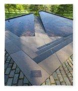 Canadian War Memorial Green Park London Fleece Blanket