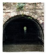 Canal Tunnel 2 Fleece Blanket