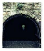 Canal Tunnel Fleece Blanket