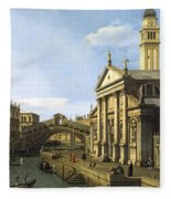 Canaletto Fleece Blanket