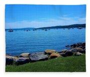 Canandaigua Lake  Fleece Blanket