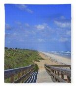 Canaveral Walkway Fleece Blanket