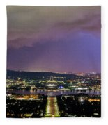 Canberra Stormy Night Fleece Blanket