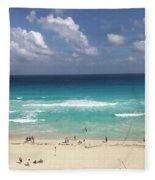 The Best View Of The Beach Fleece Blanket