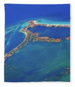Cancun Wide By Air Fleece Blanket