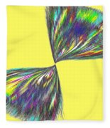 Candid Color 12 Fleece Blanket