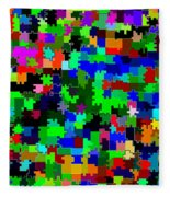 Candid Color 2 Fleece Blanket