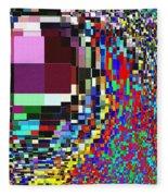 Candid Color 7 Fleece Blanket