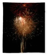 Candle Burst Fleece Blanket
