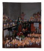 Candles For Maria Fleece Blanket