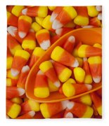 Candy Corn Fleece Blanket