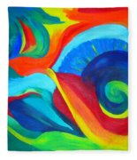Candy Flip Fleece Blanket