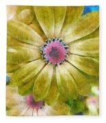 Candy Garden Fleece Blanket