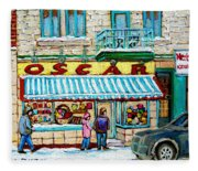 Candy Shop Fleece Blanket
