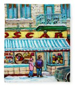 Candy Shop Fleece Blanket