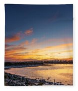 Canho De Sancti Petri San Fernando Cadiz Spain Fleece Blanket