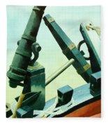 Cannon And Anchor Fleece Blanket