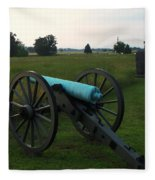 Cannon At Gettysburg 2 Fleece Blanket