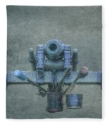 Cannon Civil War Artillery Fleece Blanket