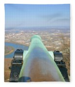 Cannon Sighting Fleece Blanket