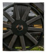Cannon Wheel Fleece Blanket