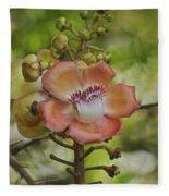 Cannonball Blossom Fleece Blanket