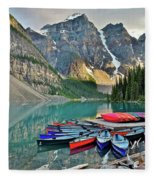 Canoe Paradise Fleece Blanket