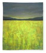 Canola Fields N05 Fleece Blanket