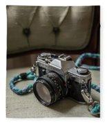 Canon Ae-1 Film Camera Fleece Blanket