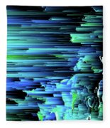 Can't Take The Sky From Me - Pixel Art Fleece Blanket