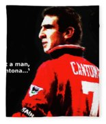 Cantona  Fleece Blanket