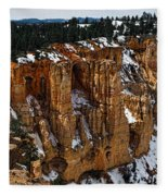 Canyon Alcoves Fleece Blanket