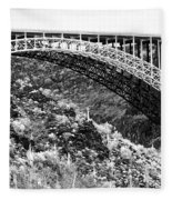 Canyon Bridge Fleece Blanket