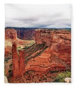 Canyon De Claire - New Mexico Fleece Blanket