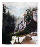 Canyon Falls Fleece Blanket