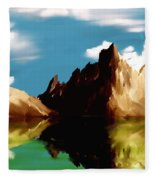 Canyon Lake Fleece Blanket
