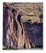 Canyon Lake Fleece Blanket