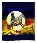 Canyon Moon Fleece Blanket
