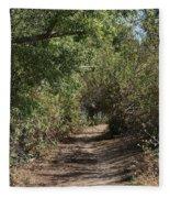 Canyon Path I Fleece Blanket