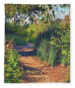 Canyon Path II Fleece Blanket