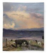 Canyon Road 2 Fleece Blanket