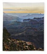 Canyon Sundown Fleece Blanket